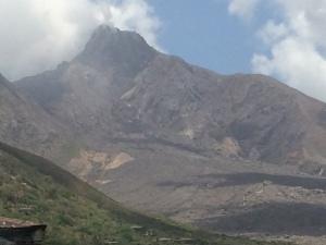 Mt. Soufriere, Montserrat's volcano