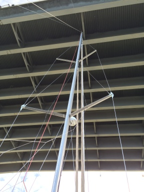 Had to take down the VHF antenna to fit under the bridge at the Kent Narrows.