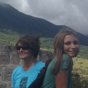 Touring Brimstone Fortress, St. Kitts