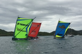 Gommiers racing, Martinique