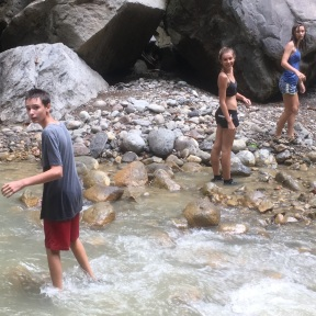 Hiking on Dominica